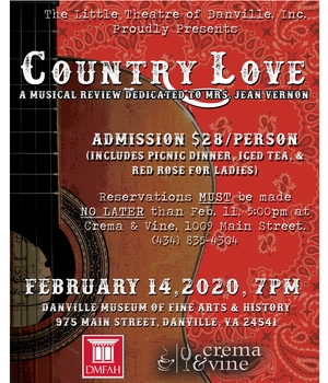 Country Love: A Musical Review Dedicated to Mrs. Jean Vernon