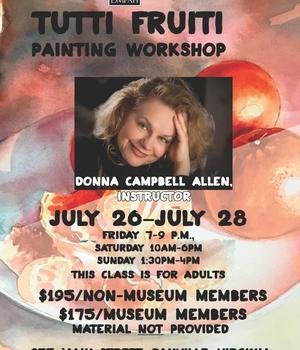 Donna Campbell Allen Painting Workshop