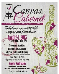 Canvas & Cabernet : An Art Entertainment Event Pairing Wine and Art Class