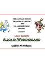 Alice In Wonderland art Workshop