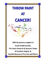 Throw Paint at Cancer Individuals/caregivers