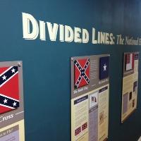 Confederate Flag Exhibit Installed