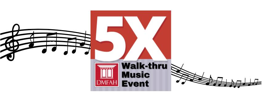5X Walk-thru Music Event Header