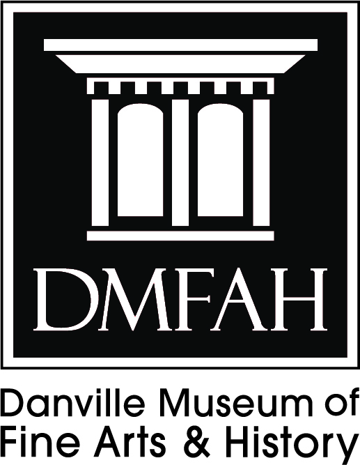 Danville Museum Logo in Black and White