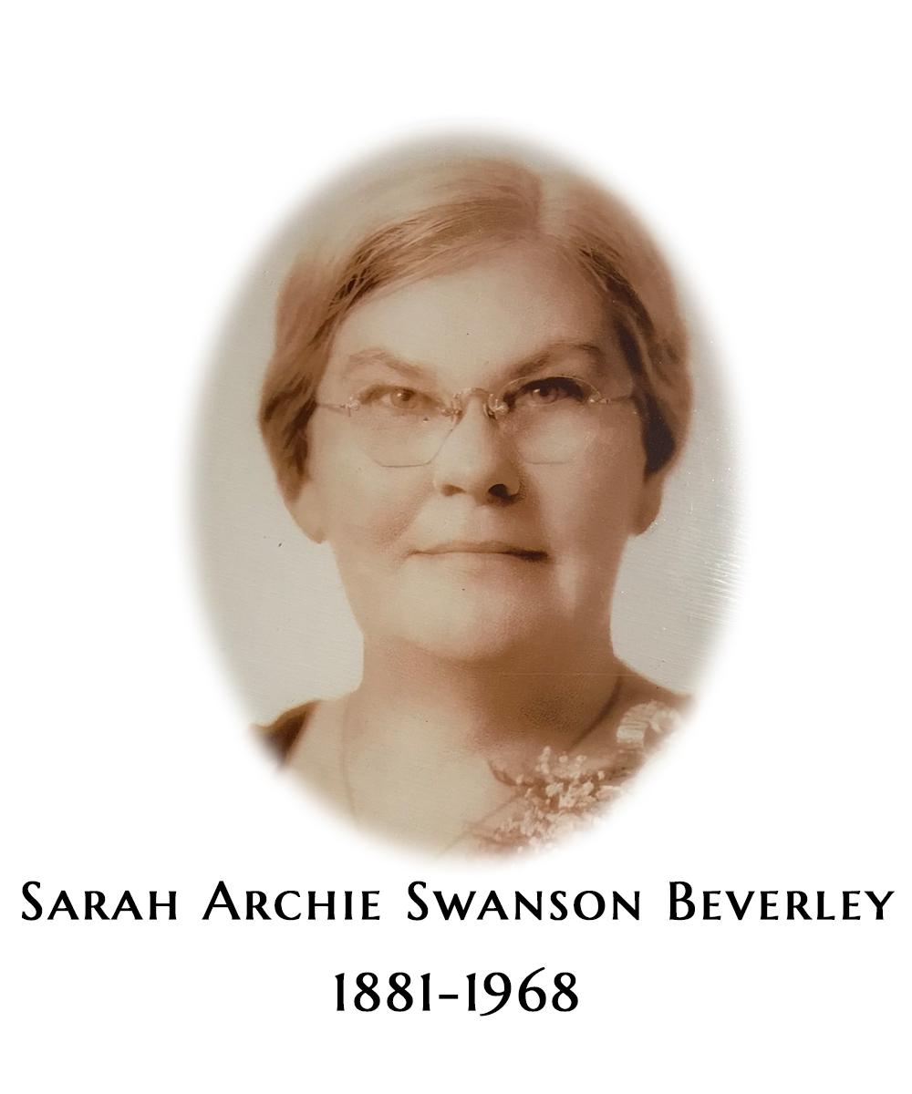 Sarah Archie Swanson Beverley