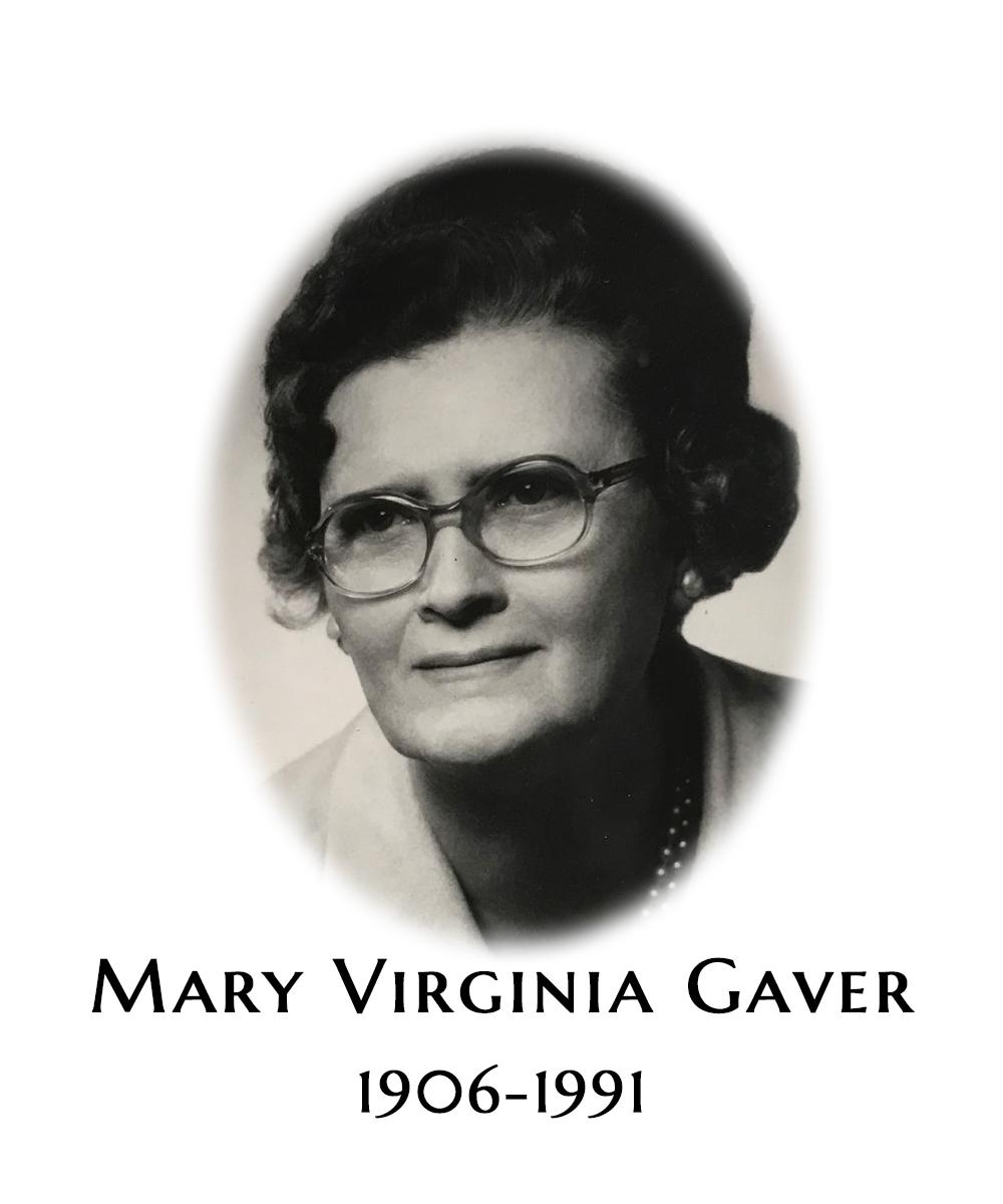 Mary Virginia Gaver