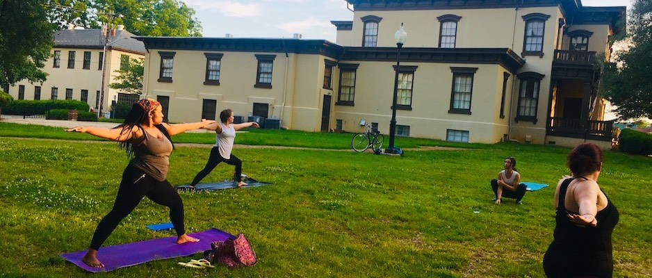 Yoga on the Lawn Image