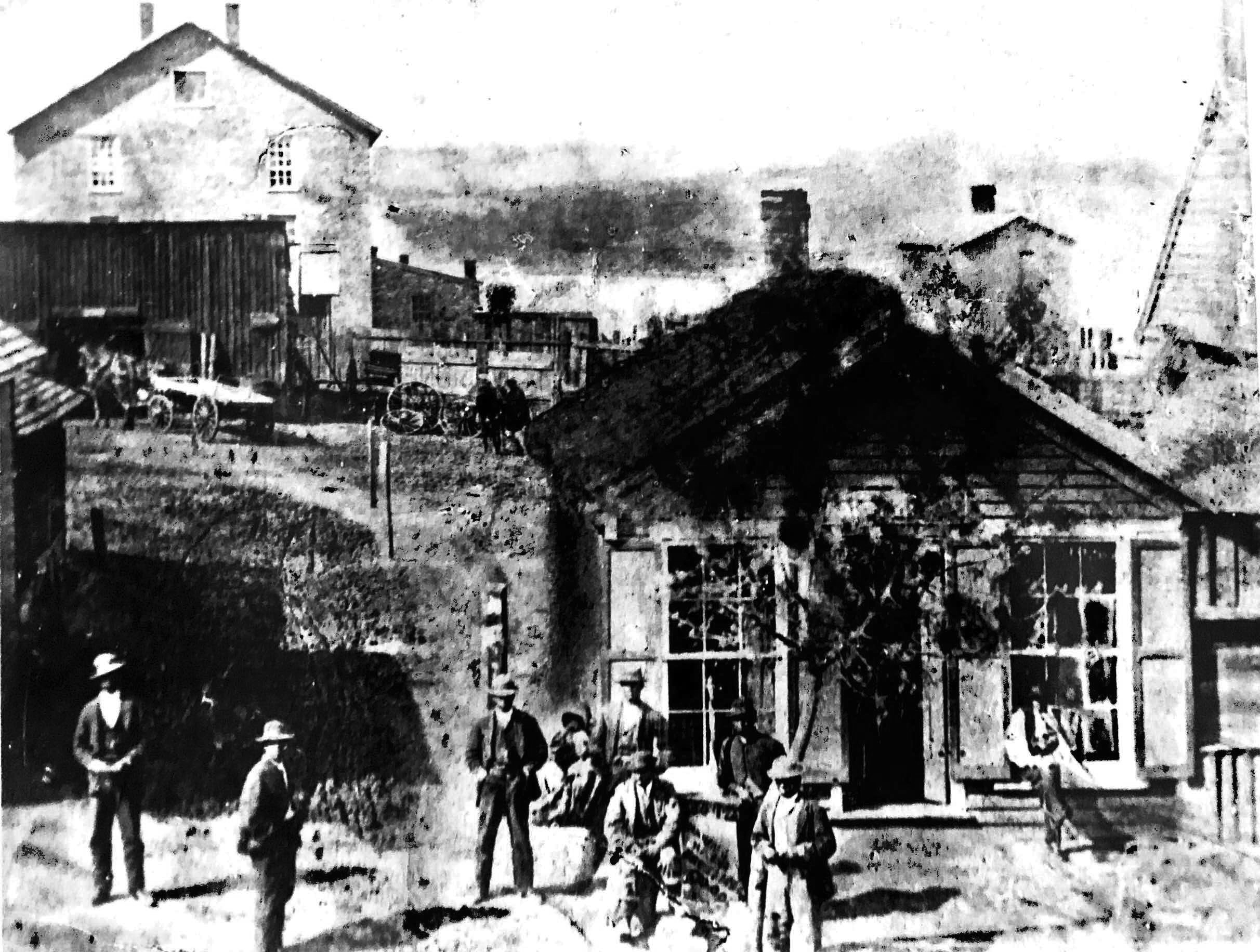 Early Danville Town_Photo
