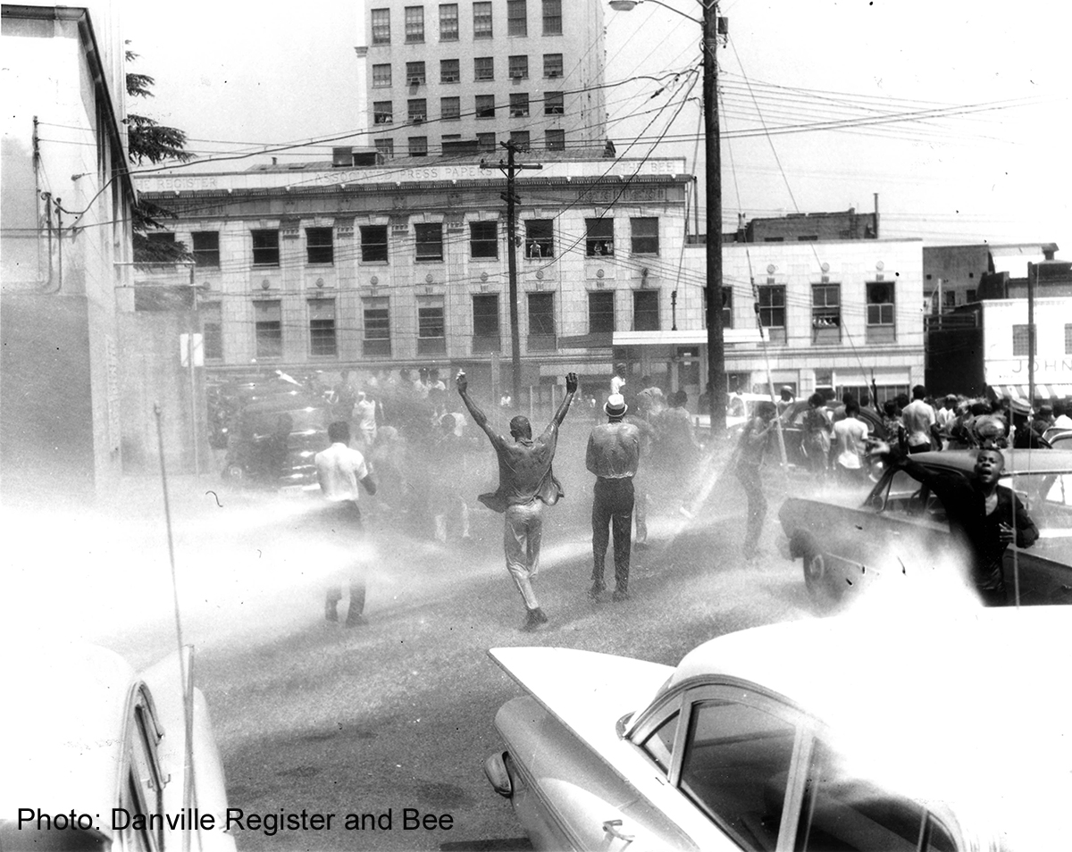 Civil Rights Protest_Hosing of Crowd